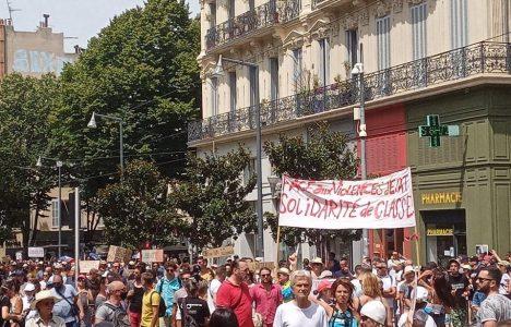 Comunicado de las juventudes comunistas de Marsella contra el pasaporte sanitario