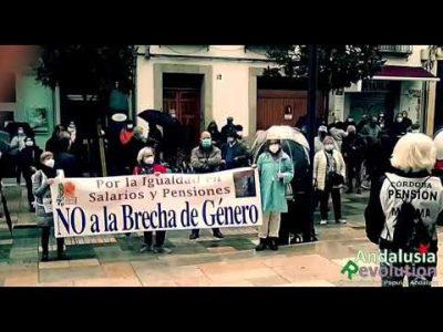 Concentraciones en toda Andalucía en defensa de las pensiones