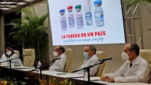 Cuba. Buscará ante la OMS aval para sus vacunas anticovid-19