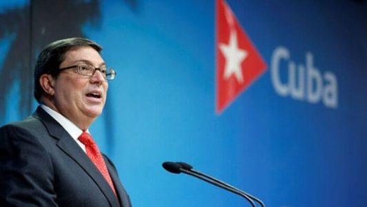 Cuba. Canciller rechaza supuesta injerencia en elecciones de Estados Unidos