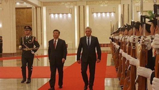 Cuba. Junto al presidentes de China ratifican colaboración bilateral