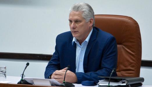 Cuba. Mensaje de felicitación al pueblo del presidente Miguel Díaz-Canel