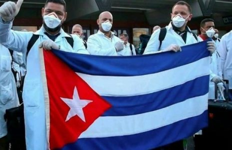 Cuba. Médicos cubanos llegan para apoyar a Honduras ante coronavirus
