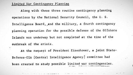 EE.UU.: Filtran documentos que revelan que el Ejército propuso llevar a cabo un ataque nuclear contra China en 1958
