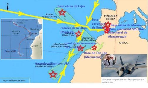 EE.UU. apoyando al expansionismo marroquí se fortalece en el vértice atlántico de Andalucía