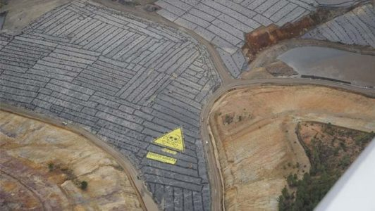 Ecologistas denuncian que el Decreto-Ley 2/2020 aprobado por la Junta allana el camino para los vertederos de residuos peligrosos de Nerva (Huelva) y Bolaños (Jerez)