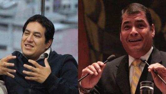Ecuador. Inscriben a la fórmula Arauz-Correa para las elecciones