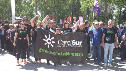 El Director General se niega a informar a los andaluces de la existencia de una Huelga en Canal Sur