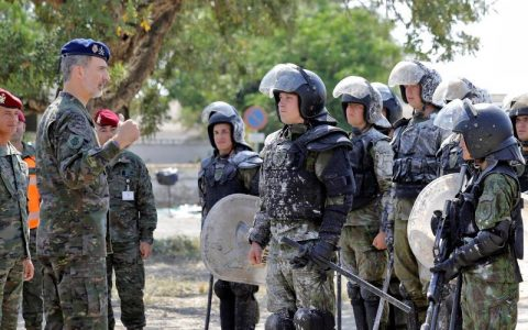 El estado español destina más de 30.000 millones de euros a gasto militar y de control social