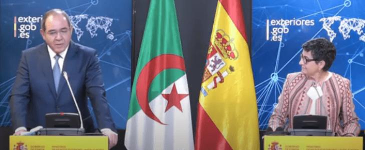 El ministro de Exteriores de Argelia dice ante González Laya que la autodeterminación es la única vía para el pueblo saharaui