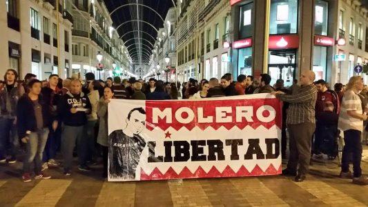 El preso político andaluz Fran Molero cumple hoy dos años en la cárcel. 50 organizaciones piden su libertad – La otra Andalucía