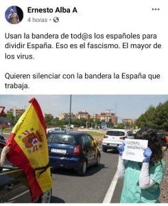 """El secretario general del PCE en Andalucía dice que la estanquera es """"la bandera de tod@s los españoles"""" – La otra Andalucía"""