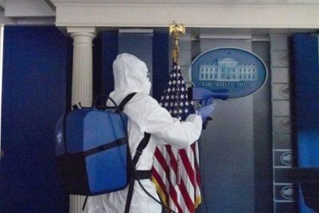 Estados Unidos. Revelan que desinfectarán la Casa Blanca tras salida