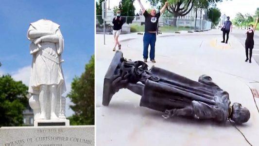 Estatuas de Colón y de los confederados son derribadas en ciudades de todo Estados Unidos – La otra Andalucía