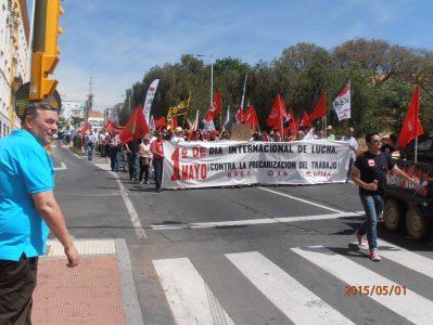 Este es el 1º de mayo más vergonzoso de la historia del movimiento obrero en el Estado español – La otra Andalucía