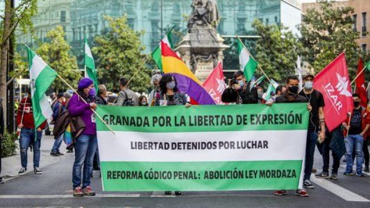 Granada: Marcha por la