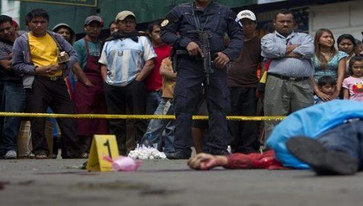 Guatemala. Registra el aumento de asesinatos durante 2021