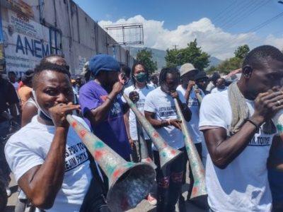 Haití. Marchan contra la violencia y ocupación de EE.UU.