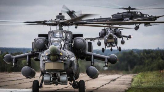 Helicopteros de Rusia y EEUU se ven cara a cara en Siria