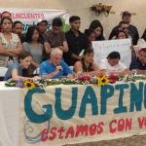 Honduras. Familiares y ambientalistas exigen libertad de defensores del Río Guapinol