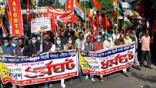 India. 200 millones de trabajadorxs paralizaron el país durante la