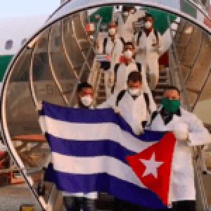 Internacional. Entre aplausos llega la brigada médica cubana para ayudar a combatir el coronavirus en Italia