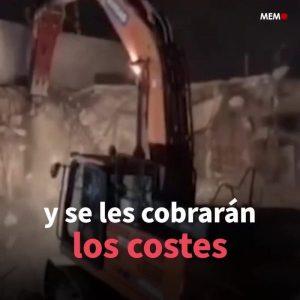 Israel obliga a palestinos a destruir sus viviendas para construir un asentamiento de colonos