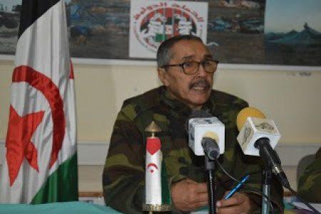 Jatri Addouh del Frente Polisario: