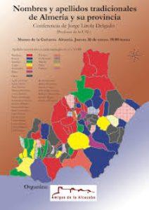 Jorge Lirola sobre el origen cultural de Almería a través de la toponimia y la antroponimia