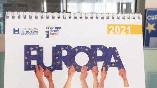 La Diputación de Huelva adoctrina a los centros educativos sobre las bondades de la UE