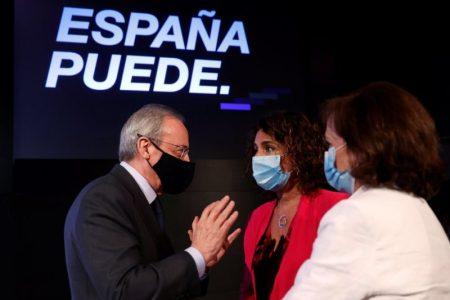 Los pesos pesados del Ibex 35 han acudido a la conferencia España Puede, organizada por el presidente del Gobierno, para pedir unidad política y social en la lucha contra el coronavirus y la reconstrucción de España