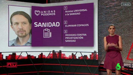 La deriva sanitaria de Unidas Podemos