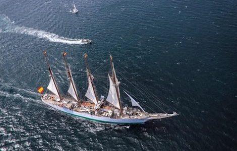 La juez propone archivar la causa por los 127 kilos de cocaína del 'Juan Sebastián Elcano'