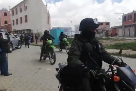 La policía respondió con represión a quienes exigían justicia en El Alto – La otra Andalucía