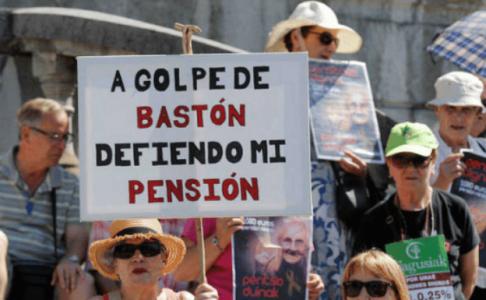 La triada del Régimen (gobierno, patronal y sindicatos amaestrados) firman la reforma de las pensiones