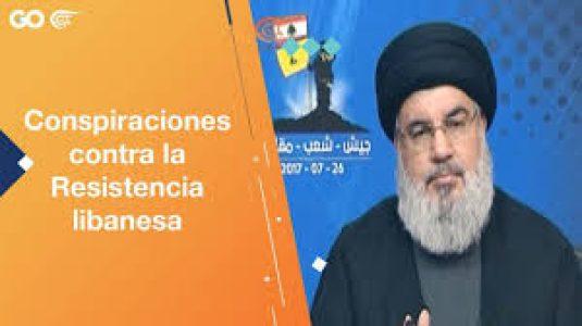 Líbano. Conspiraciones contra la resistencia libanesa (video)
