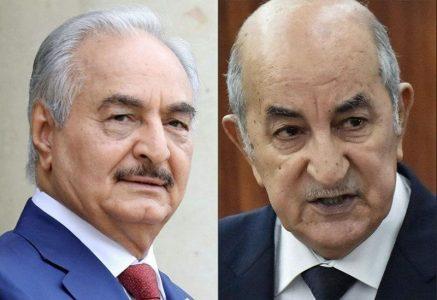 Libia: El duelo Haftar-Tebboune - La otra Andalucía