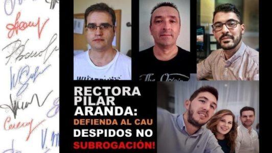 Los trabajadores del CAU de la Universidad inician a una huelga – La otra Andalucía