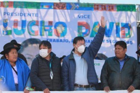 Luis Arce nombrado oficialmente presidente de Bolivia