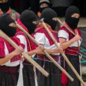 """México. """"No necesitamos permiso para luchar por la vida"""": mujeres zapatistas se unen al paro del #9M"""