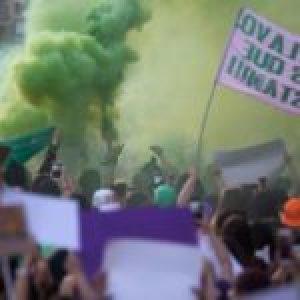 México. Mujeres realizan paro nacional contra violencia de género