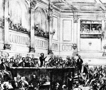 Marx en la Primera Internacional Londres