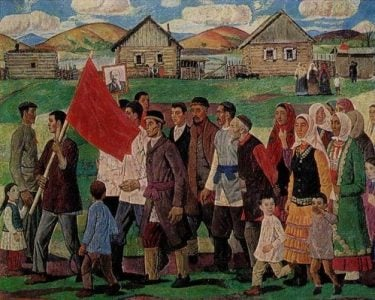 May-Day-in-the-village-in-1930s.-1969