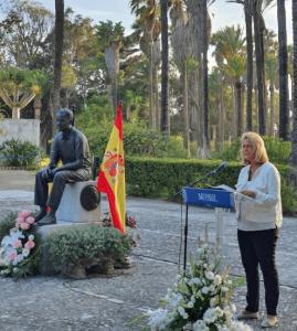 Motril: La alcaldesa (PP) ensalza la monarquía en la figura del rey Balduino de Bélgica