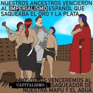 Nación Mapuche. Aniversario del ajusticiamiento de Pedro de Valdivia