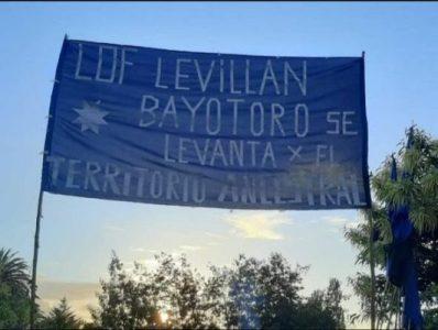 Nación Mapuche. Lof Levillan Bayotoro inicia proceso de recuperación territorial