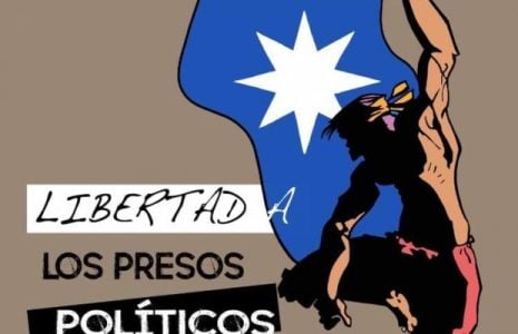 Nación Mapuche. Exigen la libertad de presos políticos Mapuche
