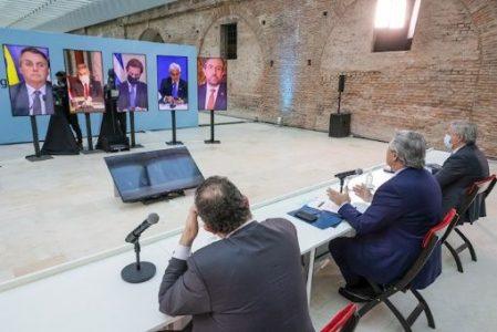 Nuestramérica. Reunión de Mercosur: Argentina pide a Brasil y Uruguay