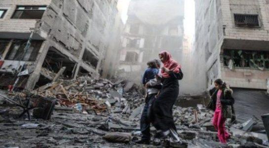 Palestina. HOLOCAUSTO. 212 muertos, la mayoría de ellos niños y
