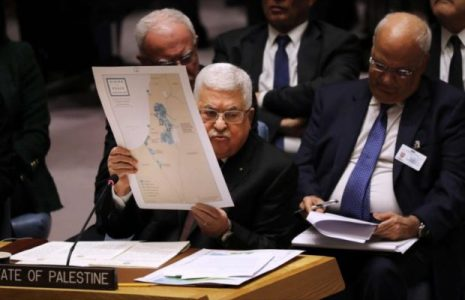 Palestina. Advierte a Israel sobre Cisjordania: Ni un centímetro más
